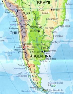 map of neuquen argentina mendoza